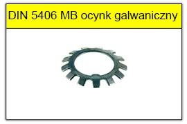 DIN 5406 ocynk galwaniczny