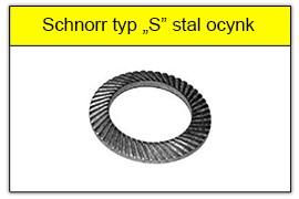 Podkładka Schnorra ocynk