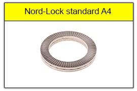 Podkładka Nord-Lock standard stal kwasoodporna