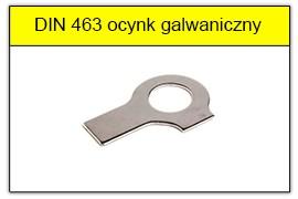 DIN 463 - PN-82022 ocynk galwaniczny
