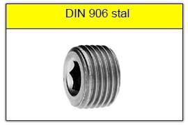 DIN 906 stalowy bez powłoki