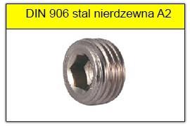 DIN 906 stal nierdzewna A2
