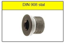 DIN 908 stalowy