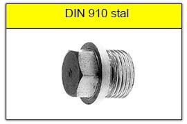 DIN 910 stalowy