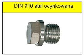 DIN 910 stalowy ocynkowany
