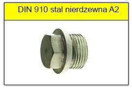DIN 910 stal nierdzewna A2