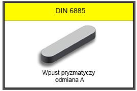DIN 6885 A