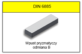 DIN 6885 B