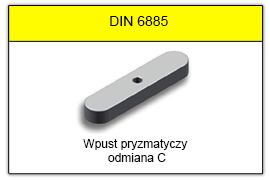 DIN 6885 C