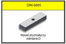 DIN 6885 D