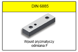 DIN 6885 F