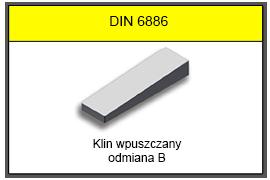 DIN 6886 B