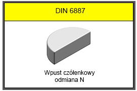 DIN 6888 N