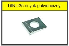DIN 435 zn